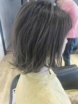 ヘアーサロン リアン 鴻巣店(hair salon Rien)カーキグレージュ☆ラフボブ
