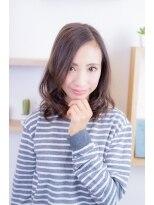 グラスヘア(Grous hair)【Grous Hair 錦糸町】☆HAPPYふわゆるミディ♪ 1