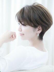 ウィルゴ(VIRGO)【VIRGO】吉瀬美智子さん風 Sラインの女性らしいショートヘア