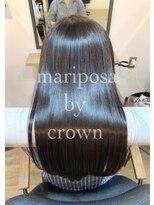 マリポーサ バイ クラウン(mariposa by crown)髪質改善縮毛矯正