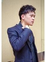 銀座マツナガ 箱崎店(GINZA MATSUNAGA)【マツナガ箱崎】束感パーマツーブロック