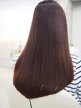 ギャラリーフォーヘア レポ(Gallery For Hair Repo)の写真/ストレートで傷むと思っていませんか??【Repo】のストレートで理想の艶髪が叶う☆
