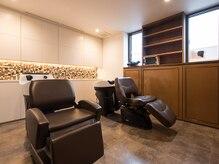 美容室アイイロの雰囲気(ゆったりと身を預けられるシャンプー台。)