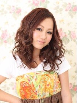 ヘアーメイク カリユ(HAIR MAKE kariyu)エアリーなフワフワスタイル