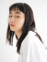 アース 花巻店(HAIR&MAKE EARTH)外国人風ゆるロングヘア