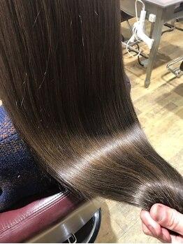 レブリス(Revliss)の写真/【髪質改善ヘアエステ】パーマやカラーを繰り返すほど髪がキレイに扱いやすくなる♪相模大野駅徒歩1分☆