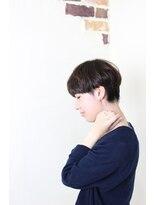ヘアデザイン ル クール(hair design Le coeur)厚めバング・刈り上げマッシュルーム