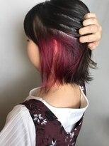 フレア ヘア サロン(FLEAR hair salon)ピンク♪インナーカラー!