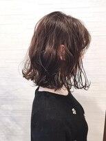 ティルヘアー(TiLL HAIR)【TiLL HAIR】ゆるふわボブ アッシュベージュ 小顔ボブ