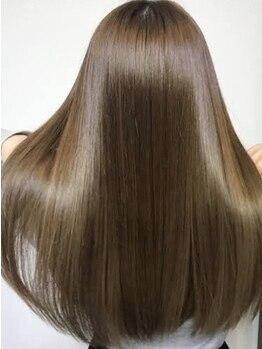 ヘアメイク パッセージノエ 浜田山店(Passage noe)の写真/メディアで話題の【サイエンスアクア】導入♪劇的に髪質が改善!クセ知らずの素直な美髪が叶う♪【浜田山】
