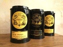 アテ(Ate)の雰囲気(施術の待ち時間に☆フランスの高級紅茶マリアージュの紅茶を♪)