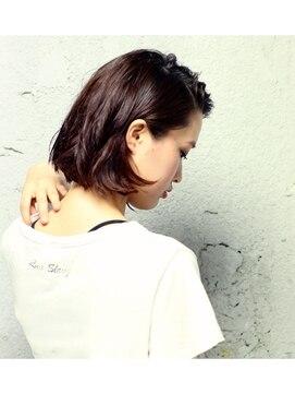ニコアヘアデザイン(Nicoa hair design)ウエット×ボブ