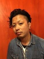 ジーニー(GENiE)ちょい悪3Dパーマ【GENIE×藤原】