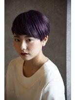 ヴィー ヘアー ファッション バー(VII hair.fashion.bar)VII hair 「ヘップバーンショートマッシュ」2