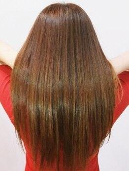 サイズカラーフリップ コレットマーレ店(XXXY'S COLO FLIP)の写真/話題の【髪質改善☆酸熱トリートメント】通い続けることで素髪美人に♪極上の仕上がりにきっと感動するはず