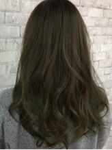 ヘアー デザイン アトリエ ニゴ(hair desing atelier 25)透明感カラー