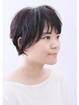 ココ ヘアーアンドライフスタイル(COCO hair&lifestyle)【COCO山口】ナチュラルショートボブスタイル