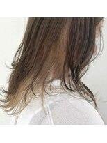 サラ ビューティー サイト 古賀店(SARA Beauty Sight)インナーカラーベージュ