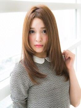 フラッグ カナヤマ 名古屋2号店(FLAG kanayama)の写真/【カット+トリートメント¥4000】可愛いStyleはヘアケアが重要!豊富なトリートメントMENUでうるツヤ髪に♪