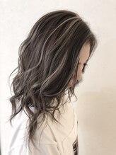 ヘアーアート リアンジュ(hair art Lienge)筋感★デザインカラー♪
