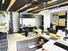 ヘアーラボ ノッシュ 六本松店(Hair Labo Nosh)の雰囲気(シックでシンプルな空間を演出♪価格以上の満足感を提供★)