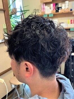 アジト オブ ヘア(Ajito of hair)の写真/忙しいサラリーマンにおすすめサロン!ON/OFFを問わない貴方に似合うスタイルをご提案します!