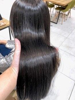 アリーナ 船橋日大前店(arena)の写真/【Aujua取扱いサロン】理想の髪を叶えるパートナー、Aujuaソムリエ在籍♪本格的なヘアケアならarenaへ!