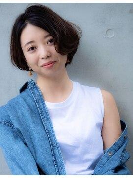 ローレン 表参道(Lauren)アンニョイショートボブ