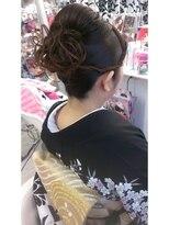 ハナココ 水戸店(hana Coco)お着物ヘアー 和装 花見 花火 お祭り 神輿 イベント 和装 水戸