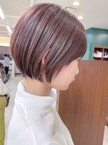 キアラ(Kchiara)透明感ピンクでキュートなショート【福岡大名Kchiara瀧本】