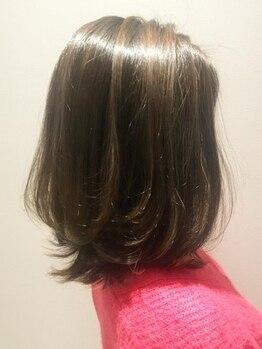 ビューティーコースト ノア(Beauty Coast Noah)の写真/90%以上が天然成分で作られたナチュラルハーブカラー。頭皮・毛髪改善を叶えて、色味が映えるツヤ髪へ♪