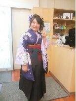 成人式の袴DEアップスタイル画像