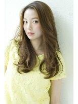 ジョエミバイアンアミ(joemi by Un ami)【 joemi 】カットだけで決まる☆流し前髪レイヤーロング
