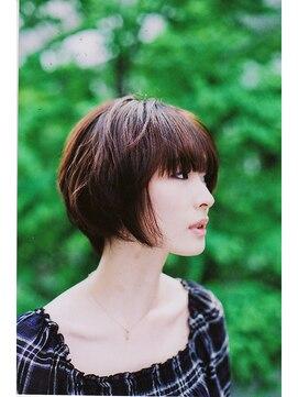 ヘア クチュール ミヨ(HAIR COUTURE MIYO)クールショートボブ【品川駅・HAIR COUTRE MIYO】
