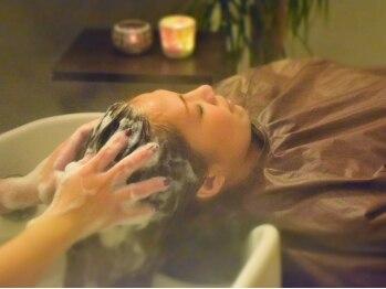 ルシード スタイル サーヴ(LUCIDO STYLE SERVE)の写真/【北海道初☆マンダムコラボ店】イキイキと弾む本来の美しい髪へ…結果重視&本気エイジングケアとしても◎