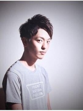 メンズヘアースパイス ユメサキ(Men's Hair SPICE -yumesaki-)爽やかアップバングショート