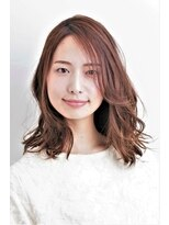 フィンセント 新高円寺店(VINCENT)いい女度アップの大人可愛いミディアムスタイル