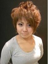 ヘアーメイク カリユ(HAIR MAKE kariyu)毛束感をしっかり出したアクティブショート
