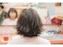 ヒノワ ヘアデザイン(HINOWA)の雰囲気(柔らかく、フェードアウトして肌に馴染む毛先の処理を致します。)