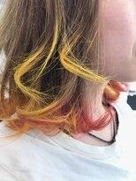 レザボア ヘアーアンドビューティー ハイブ店(reservoir Hair&Beauty Haibe)ビビットカラー