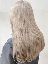 ソース ヘア アトリエ 京橋(Source hair atelier)ホワイトミルクティー