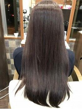 ミューク 上野丘店(Remit Hair miuq)の写真/【最高級Aujuaトリートメント取扱】乾燥による髪のダメージや艶がないと悩みの方もしなやかな美髪の虜に!