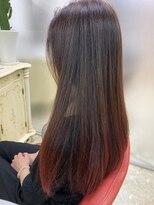 アルファ インタラクティブ エム フラワー(ALUFA interactive.M Flower)30代◎ナノミストでうるつや髪になれちゃう☆ロングスタイル☆