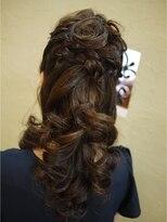 キーナ(Organic Hair KI-NA)カッコかわいい!ハーフアップ