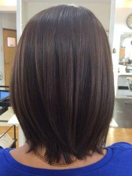 ヘアー グリース(hair GREASE)の写真/ノンジアミンのヘアカラーは頭皮にも髪にも優しいのが嬉しい◎その他オーガニック商材も多数取り扱いあり♪