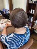 アドア(ADOR)ゆるフワボブの縮毛矯正スタイル