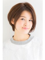 【NEUTRAL青木佳子】美シルエット×大人可愛いショートボブ