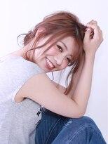 ブラン(Blanc)【Blanc hair】メッシーバン らふアレンジ
