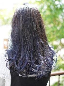 """フェリーク ヘアサロン(Feerique hair salon)の写真/ベーシックも""""外国人風""""などのトレンドもお任せ!お客様のご要望に応じたカラーデザインをご提案◎"""