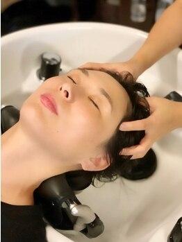 パチャールヘアー(PACAR HAIR)の写真/髪の状態や悩みに合わせて提案するスパが人気☆[県内取扱い希少]頭皮洗浄効果のあるハーブスパがおすすめ◎